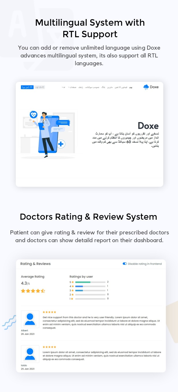 Doxe - SaaS Doctors Chamber, Prescription & Appointment Software - 3
